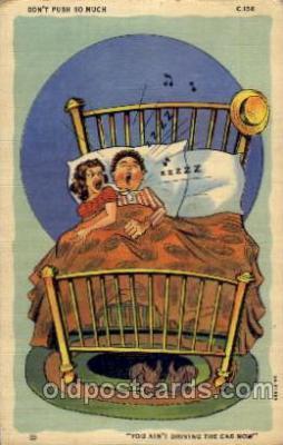 com100020 - Comic Postcard Post Card
