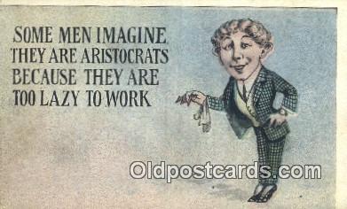 com100183 - Comic Comical Postcard Post Card Old Vintage Antique