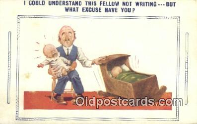 com100223 - Comic Comical Postcard Post Card Old Vintage Antique
