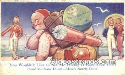 com100229 - Comic Comical Postcard Post Card Old Vintage Antique