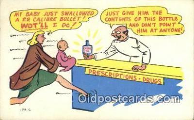 com100243 - Comic Comical Postcard Post Card Old Vintage Antique