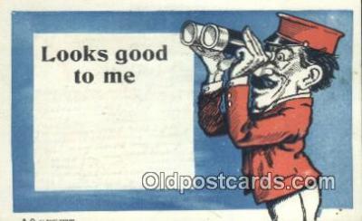 com100248 - Comic Comical Postcard Post Card Old Vintage Antique