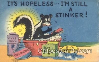 com100606 - Comic Comical Postcard Post Card Old Vintage Antique