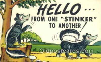 com100615 - Comic Comical Postcard Post Card Old Vintage Antique