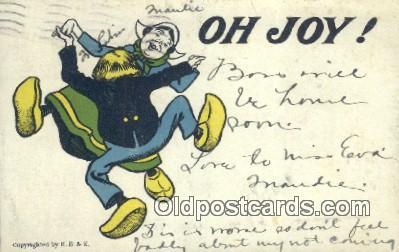 com100623 - Comic Comical Postcard Post Card Old Vintage Antique