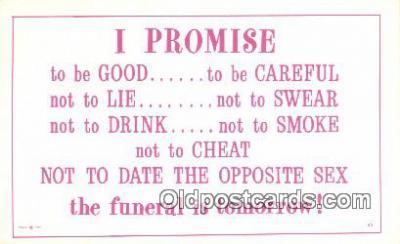 com100625 - Comic Comical Postcard Post Card Old Vintage Antique