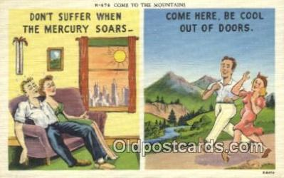 com100659 - Comic Comical Postcard Post Card Old Vintage Antique