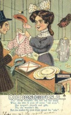 com100671 - Comic Comical Postcard Post Card Old Vintage Antique