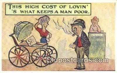 com100688 - Comic Comical Postcard Post Card Old Vintage Antique