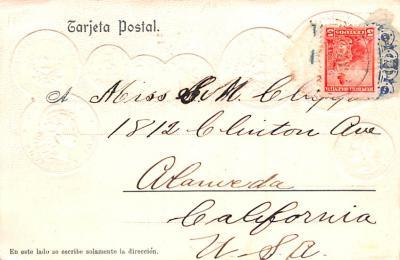 con002021 - Coin Postcard, Old Vintage Antique  back
