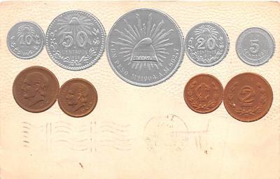 con002109 - Coin Postcard, Old Vintage Antique