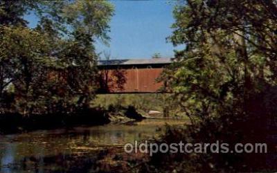 cou100087 - Greencastle, Putnam County, IN USA  The Walker Bridge