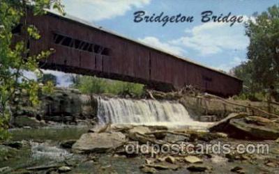 cou100094 - Bridgeton, Parke Co., IN USA Bridgeton Bridge