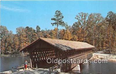 cou101149 - Covered Bridge Vintage Postcard