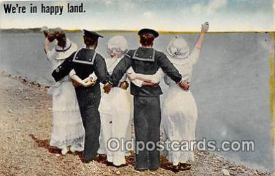 cps001223 - Couples Romance Vintage Postcard