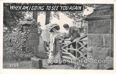cps001226 - Couples Romance Vintage Postcard