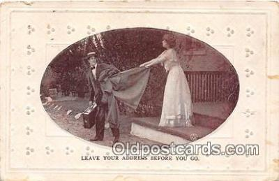 cps001229 - Couples Romance Vintage Postcard