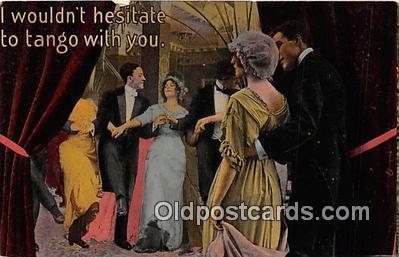cps001233 - Couples Romance Vintage Postcard