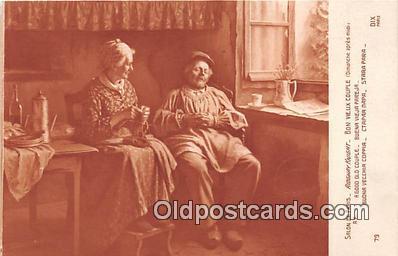 cps001237 - Couples Romance Vintage Postcard