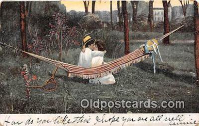 cps001251 - Couples Romance Vintage Postcard