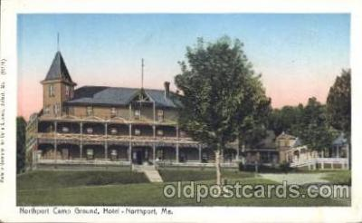 Hotel- Northport, Me. Maine, USA