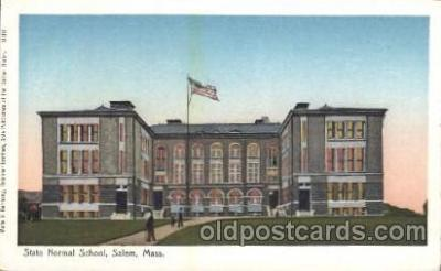 State Normal School, Salem, Mass. USA