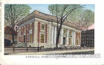 Post office, Lawrence, Mass, USA