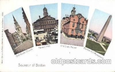 Souvenir of Boston Massachusetts, USA