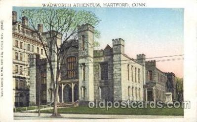 Wadworth Atheneum, Hartford, Conn. USA