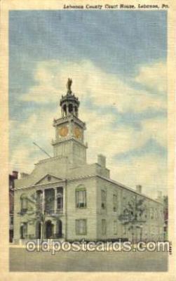 cth001012 - Lebanon, Pennsylvania USA Lebanon County Court House