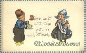 cam001226 - Camera Postcard, Post Card Old Vintage Antique