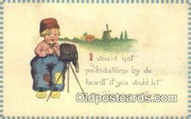 cam001232 - Camera Postcard, Post Card Old Vintage Antique