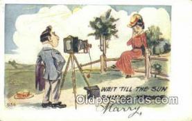 cam001235 - Camera Postcard, Post Card Old Vintage Antique