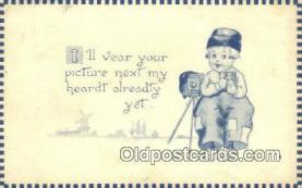 cam001236 - Camera Postcard, Post Card Old Vintage Antique