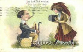 cam001248 - Camera Postcard, Post Card Old Vintage Antique