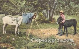 cam001249 - Camera Postcard, Post Card Old Vintage Antique