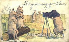 cam001259 - Camera Postcard, Post Card Old Vintage Antique