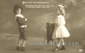 cam001261 - Camera Postcard, Post Card Old Vintage Antique