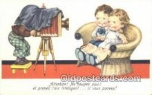cam001283 - Camera Postcard, Post Card Old Vintage Antique