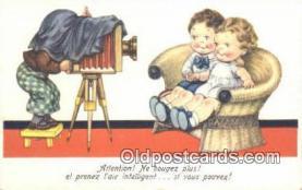 cam001283 - Camera Postcard, Post Card Old Vintage Antique