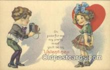 cam001300 - Valentine Camera Postcard, Post Card Old Vintage Antique