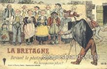 cam001316 - La Bretagne Camera Postcard, Post Card Old Vintage Antique