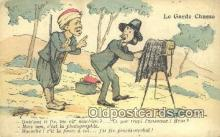 cam001355 - Le Garde Chasse Camera Postcard, Post Card Old Vintage Antique