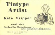 cam001418 - Nate Skipper, Franklin, MI 48025 Camera Postcard, Post Card Old Vintage Antique
