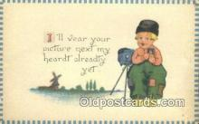 cam001449 - Camera Postcard, Post Card Old Vintage Antique