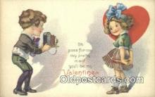 cam001463 - Valentine Camera Postcard, Post Card Old Vintage Antique