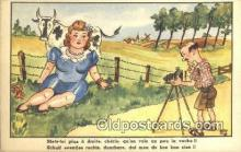 cam001501 - Artist Ray Camera Postcard, Post Card Old Vintage Antique