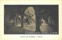 cam001542 - Cortile Del Bargello - Firenze Camera Postcard, Post Card Old Vintage Antique