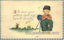 cam001555 - Camera Postcard, Post Card Old Vintage Antique
