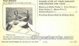 cam001568 - Camera Postcard, Post Card Old Vintage Antique